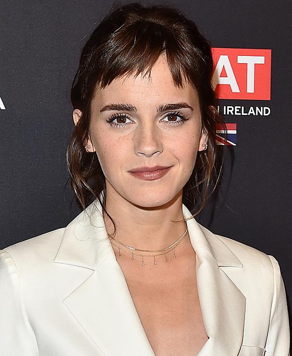 Emma Watson at BAFTA Los Angeles tea party