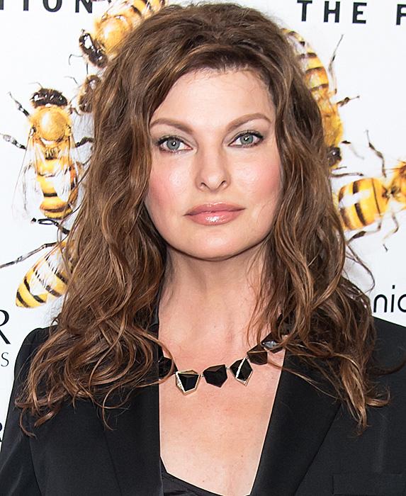 Linda Evangelista at Fragrance Foundation Awards