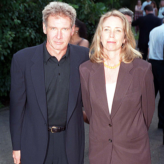 Harrison Ford and Melissa Mathison at event