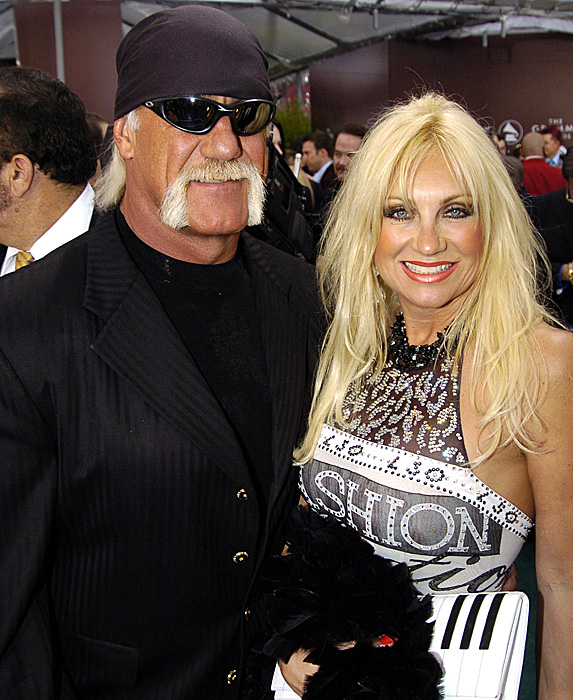 Hulk Hogan and Linda Hogan at event