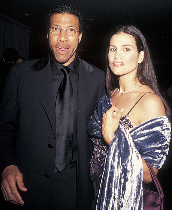 Lionel Richie and Diane Alexander at event