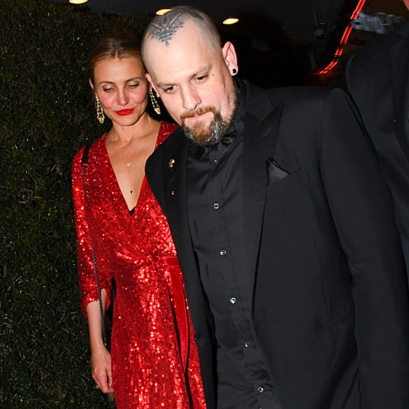 Cameron Diaz and Benji Madden headed to event in L.A.