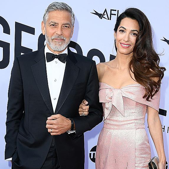 George Clooney and Amal Alamuddin at AFI's Life Achievement Award Gala