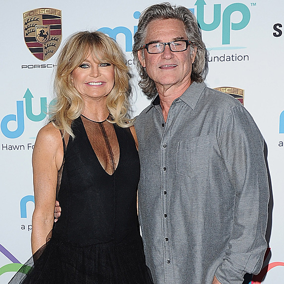 Goldie Hawn and Kurt Russell attend Goldie's Love In For Kids event