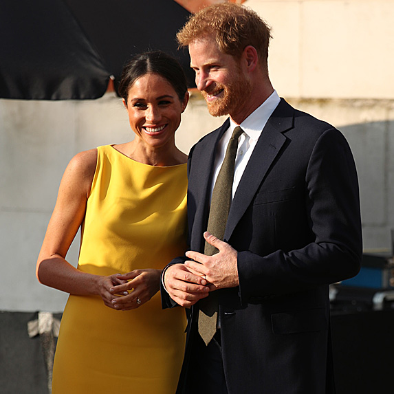 Meghan Markle and Prince Harry at the Your Commonwealth Youth Challenge in London