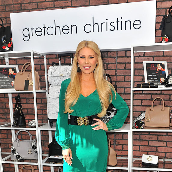 She sold her company, Gretchen Christine
