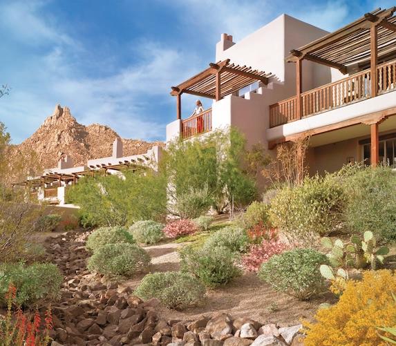 Exterior views of The Four Seasons Scottsdale