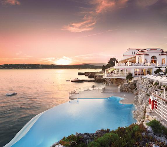 Pool views at Hotel du Cap-Eden-Roc