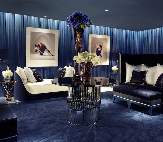 The luxurious spa relaxation room at The Dorchester