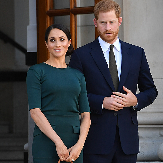 Meghan and Harry in Ireland