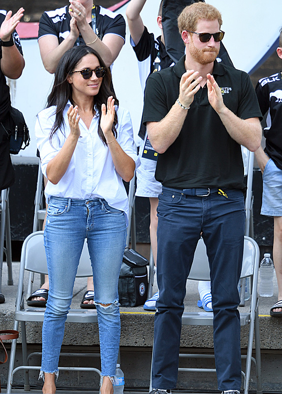Meghan and Harry at Invictus Games in Toronto