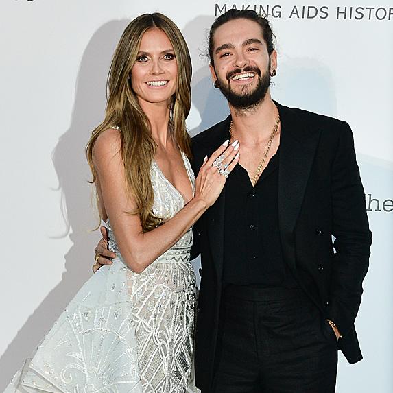 Heidi Klum and Tom Kaulitz in Cannes