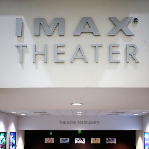 IMAX theatre entrance