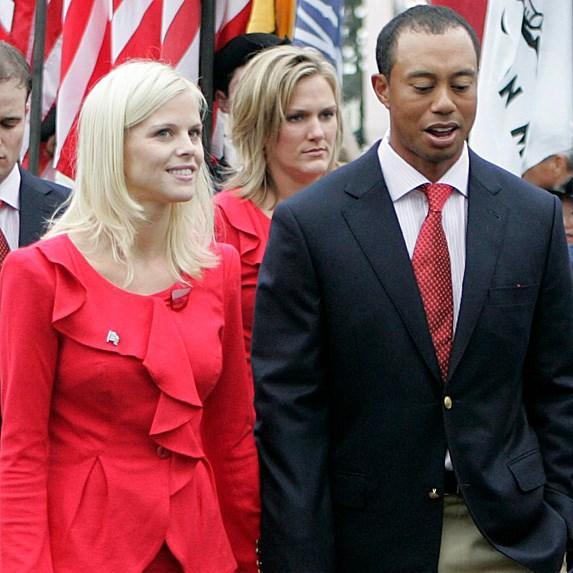 Tiger Woods and Elin Nordegren divorce