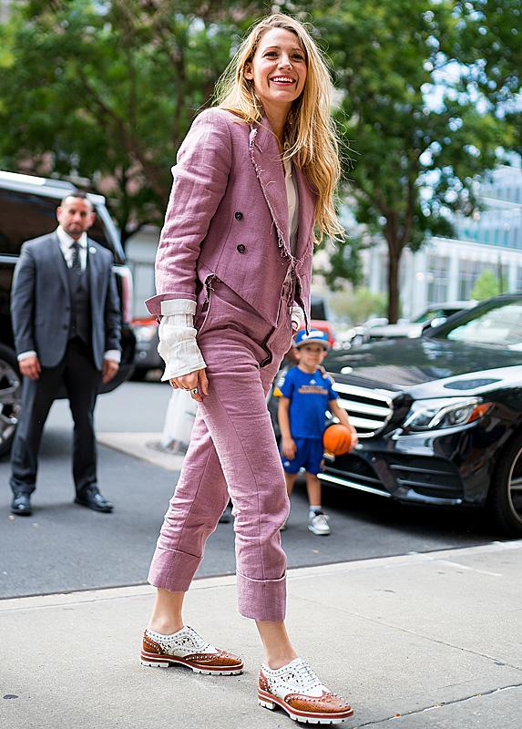 Blake Lively walking in NYC
