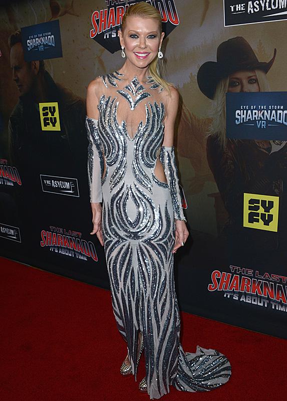 Tara Reid at Sharknado premiere