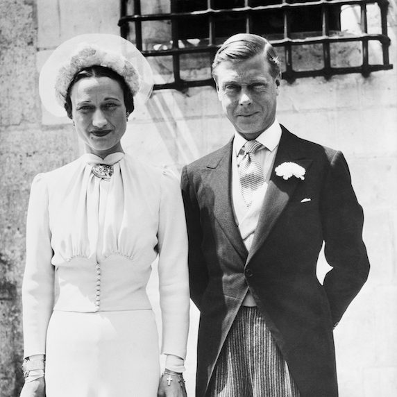 The Duke and Duchess of Windsor on their wedding day
