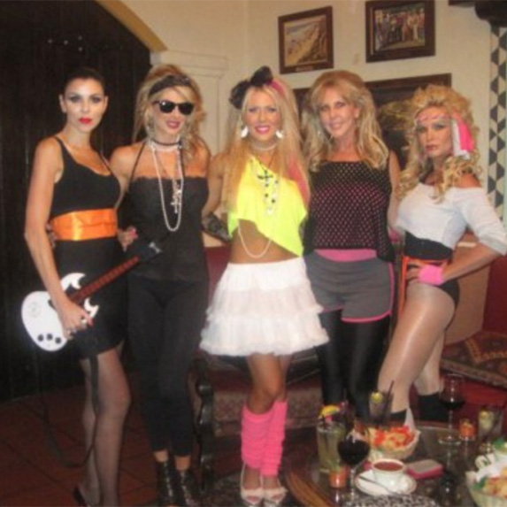 BEST: Tamra's 80s Bunco Party