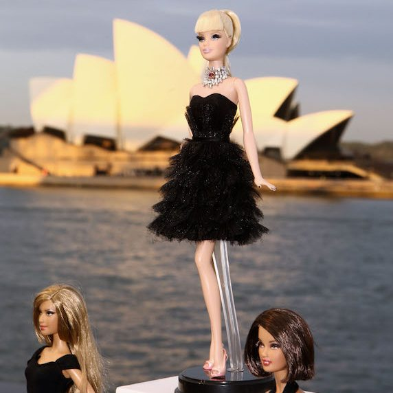 The world's most expensive Barbie dolls on display in Australia