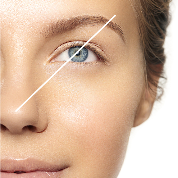 use brow measurement to find your perfect arch placement