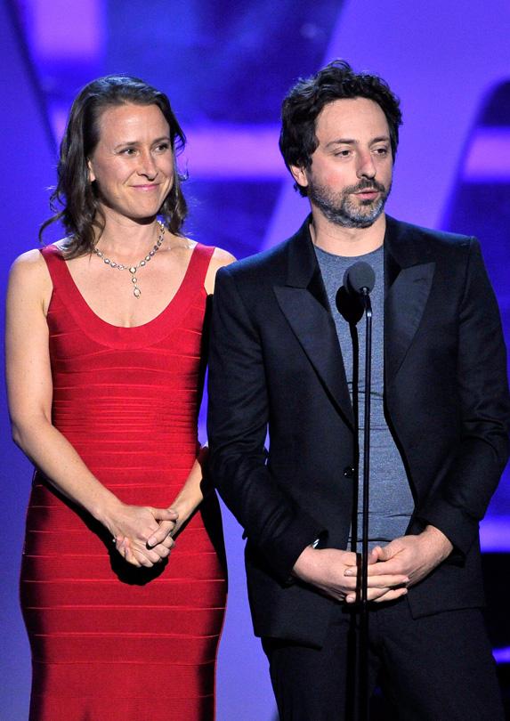 Anne Wojcicki married rich Sergey Brin