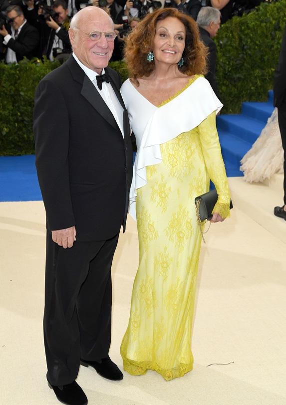Diane von Furstenberg married rich Barry Diller