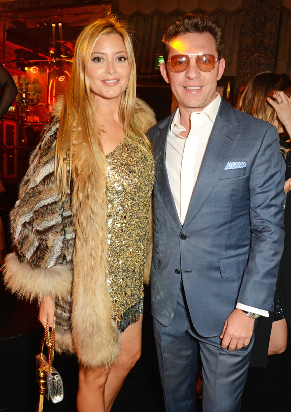 Holly Valance married rich