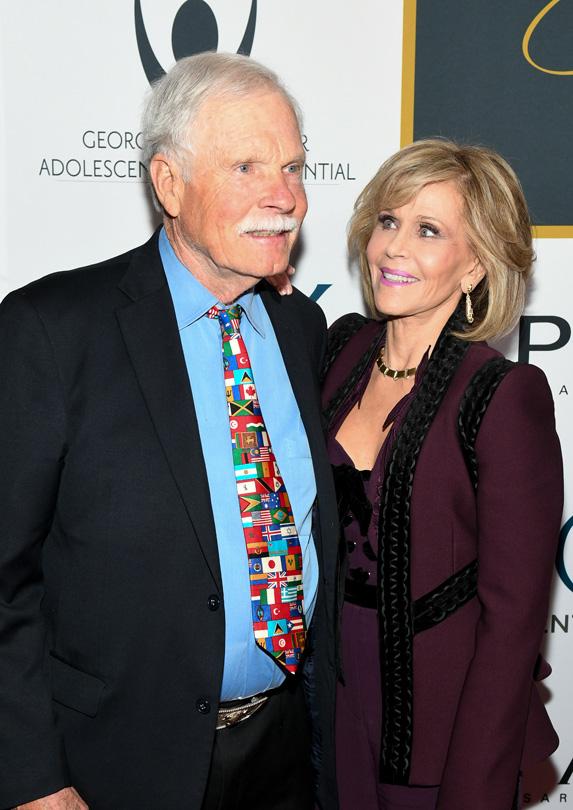 Jane Fonda married rich