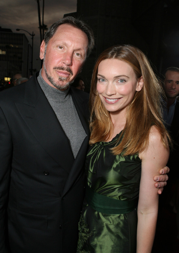 Melanie Craft married rich Larry Ellison