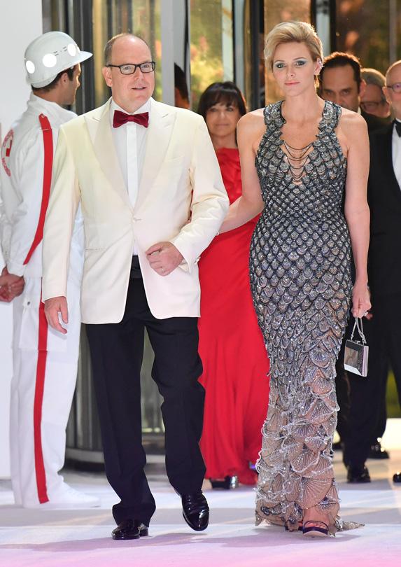 Princess Charlene of Monaco amd Prince Albert