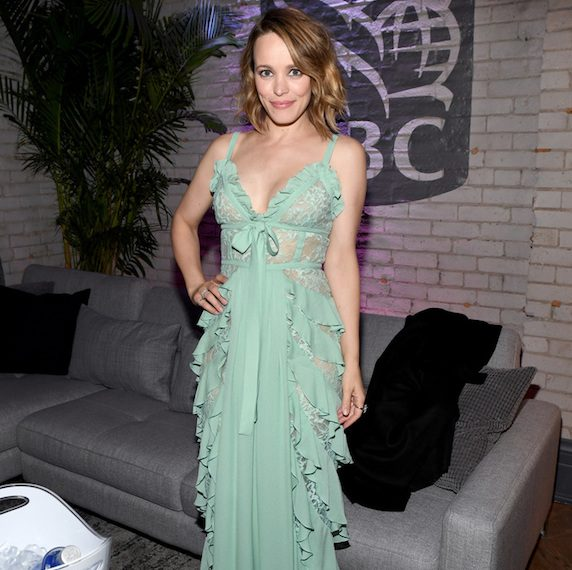 Rachel McAdams attends the 2017 film premiere party for Disobedience, hosted by RBC House