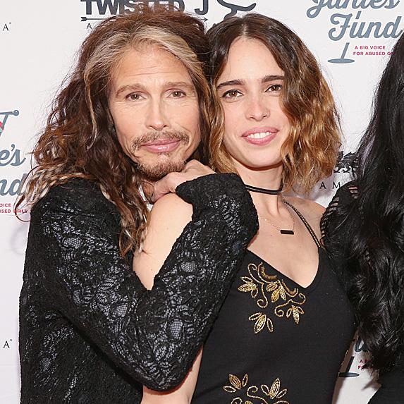 Steven Tyler and daughter Chelsea