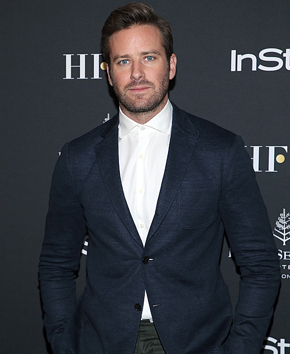 Armie Hammer at TIFF after party