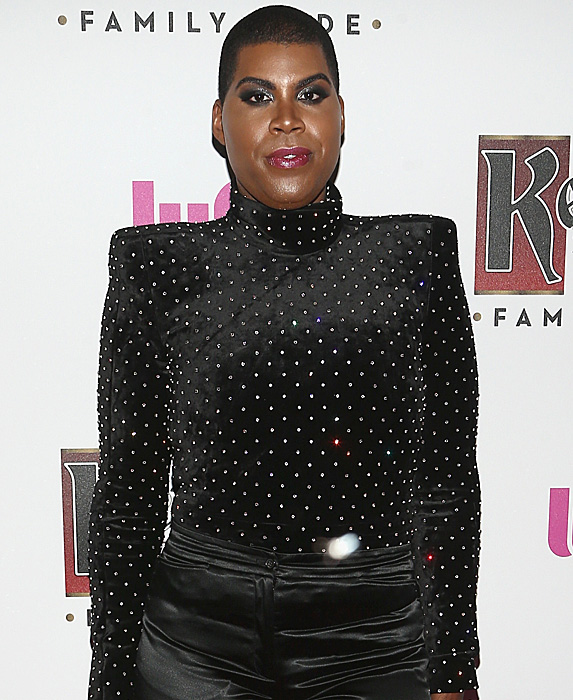 EJ Johnson at the Queer Eye cast party