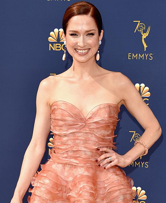 Ellie Kemper at the 2018 Emmy Awards