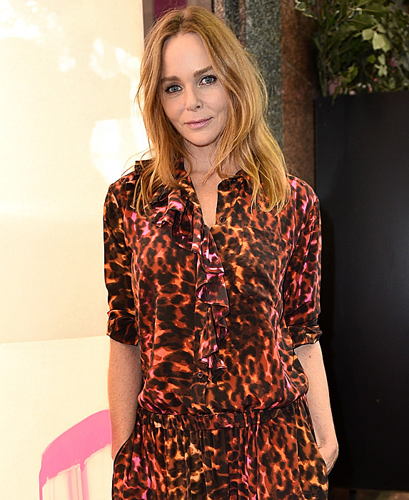 Stella McCartney at line launch