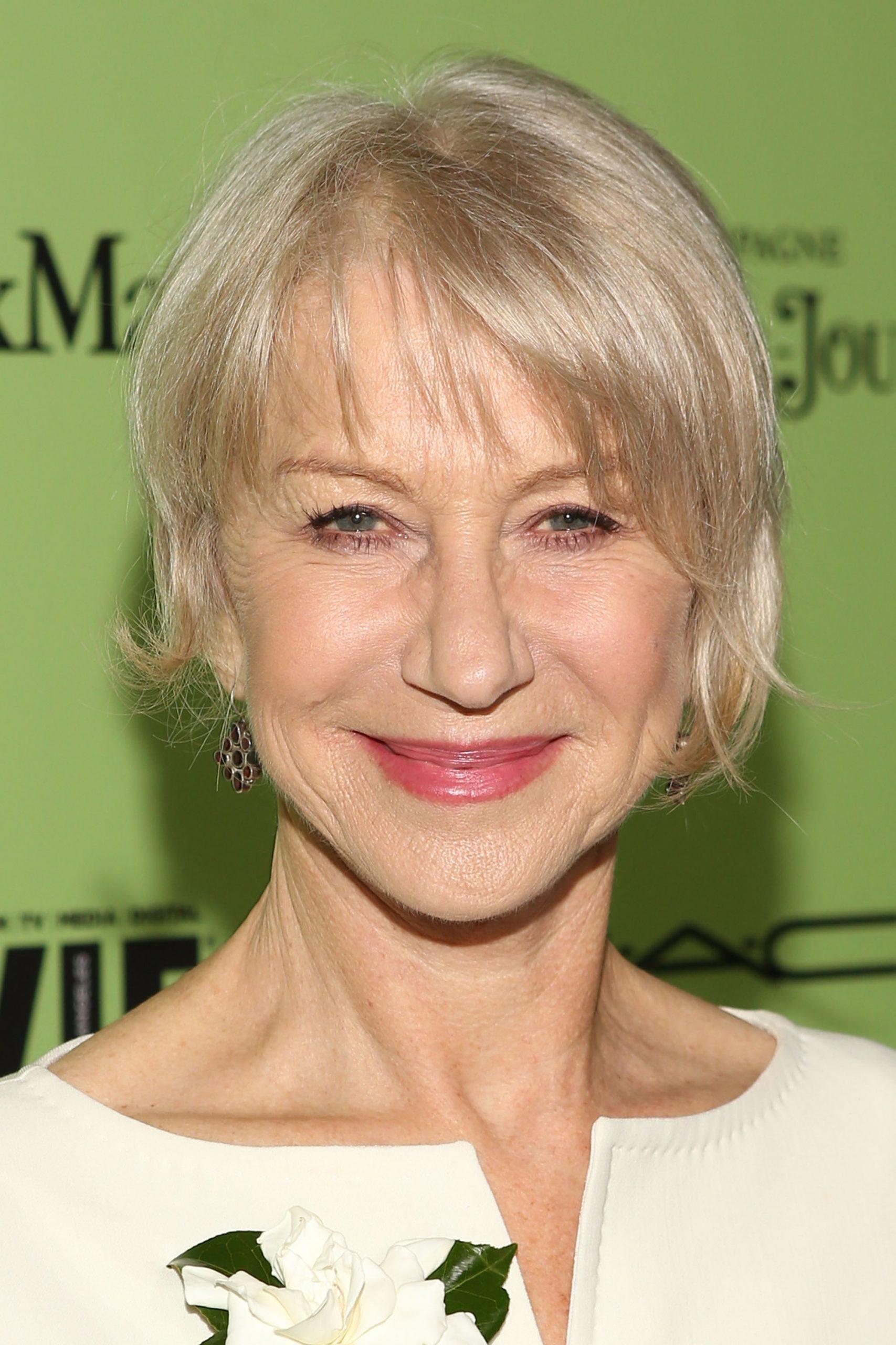 Aging gracefully: Helen Mirren