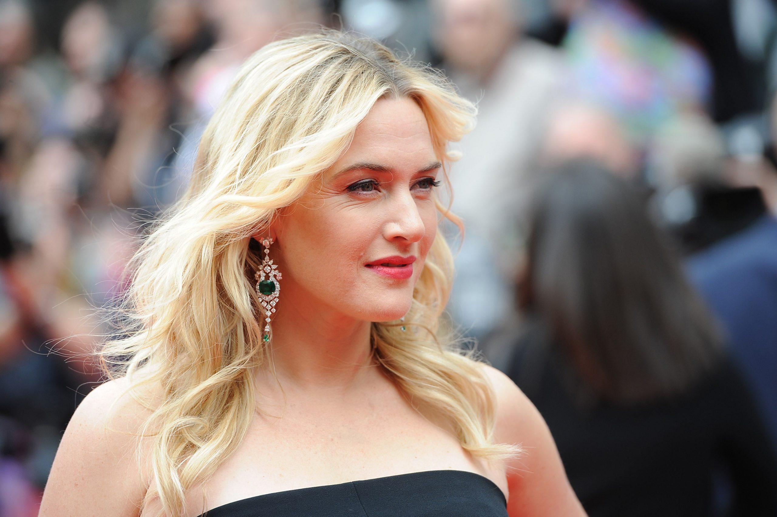 Against retouching: Kate Winslet