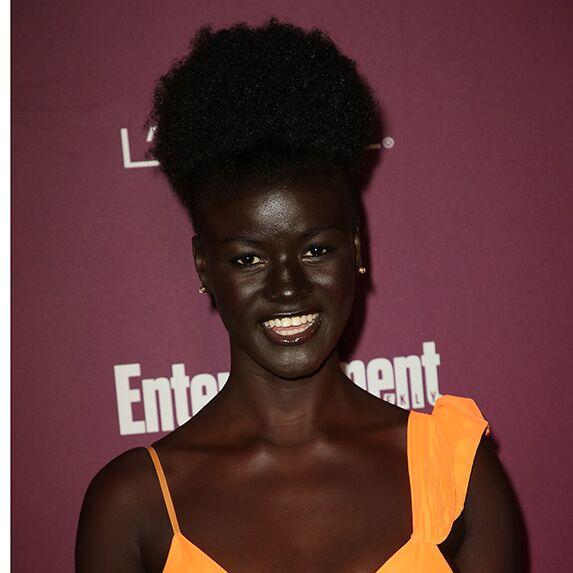 Dark skin: Khoudia Diop