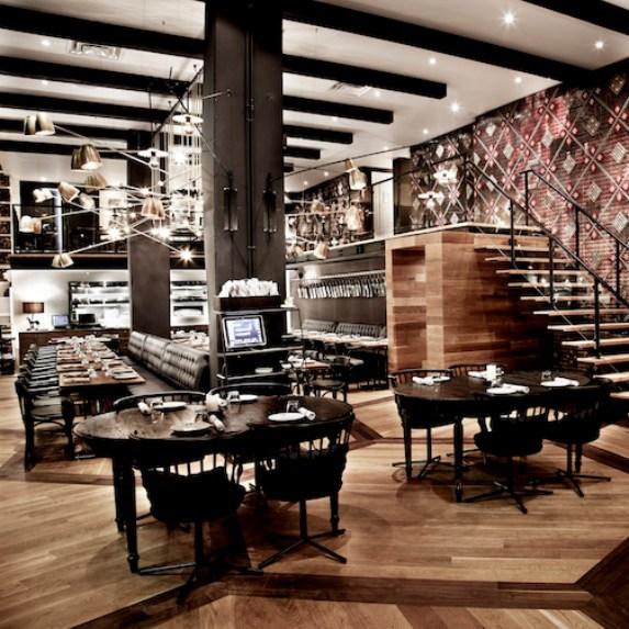 The interior of Patria restaurant in Toronto
