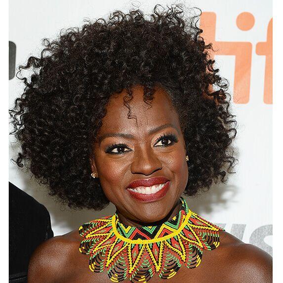 Dark skin: Viola Davis