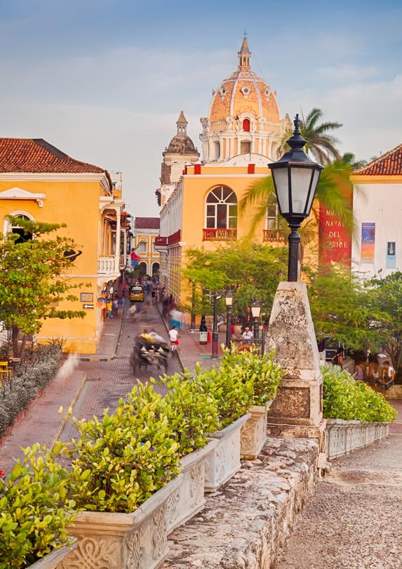 Cartagena, Colombia street scene
