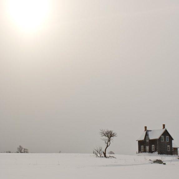 Abandoned farmhouse, Barrow Bay, Ontario
