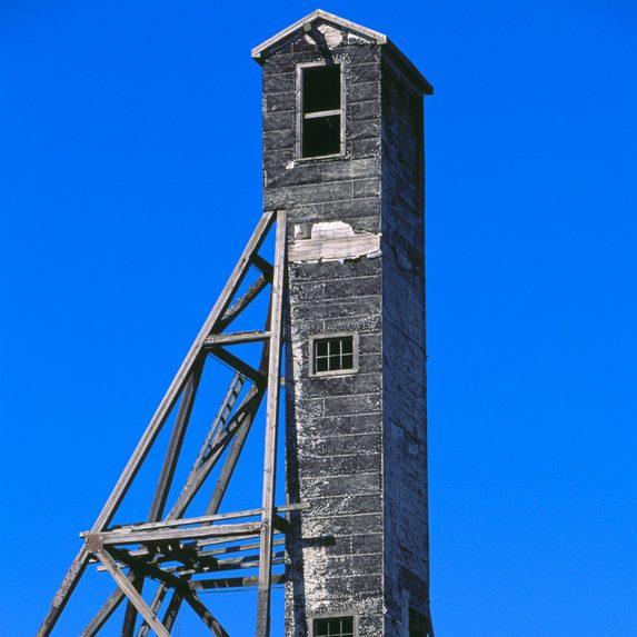 Abandoned mine, Cobalt, Ontario