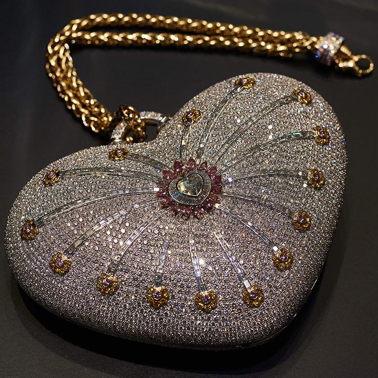 The 'Mouawad 1001 Nights Diamond Purse