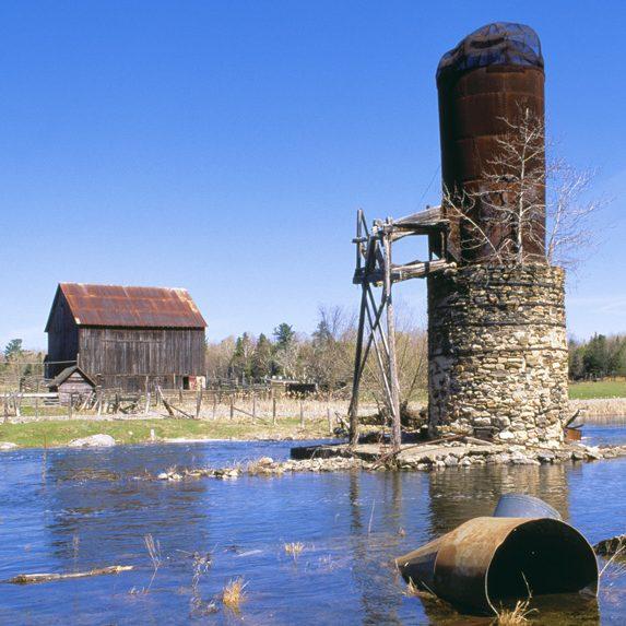 Abandoned sawmill, Balaclava, Ontario