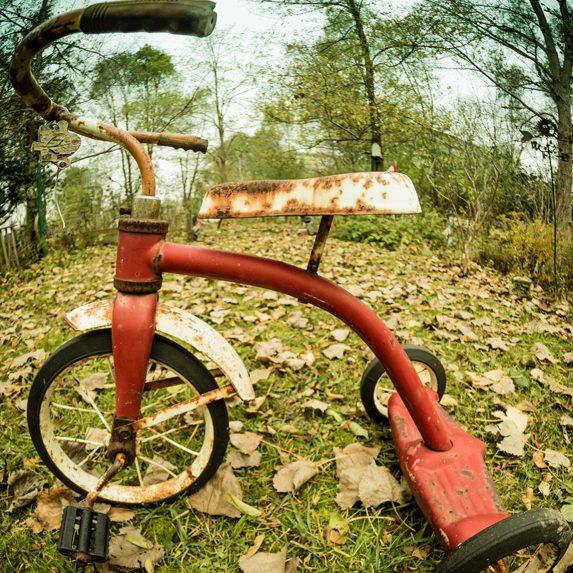 Abandoned trike, London, Ontario