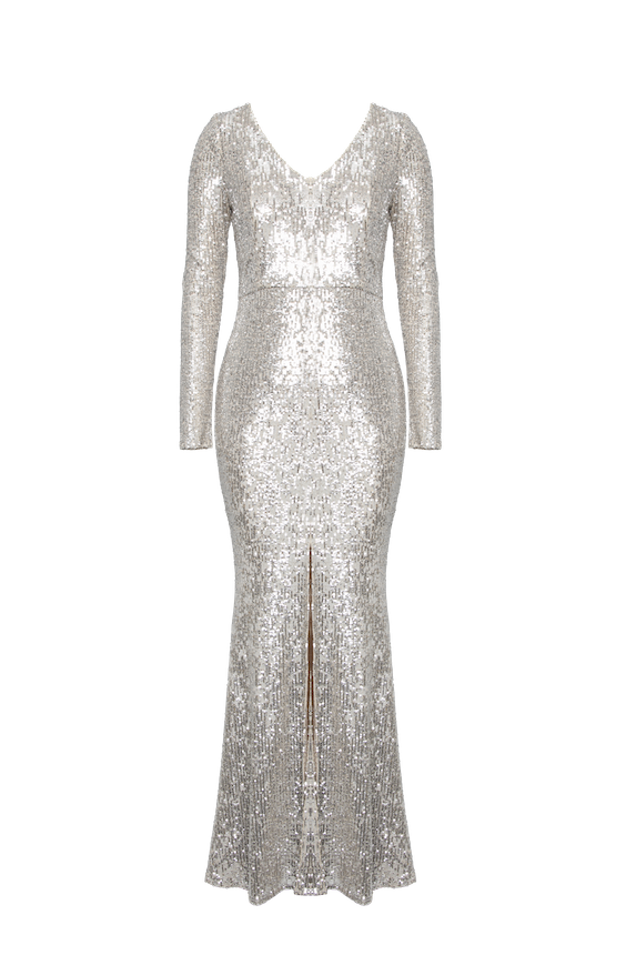 Sequined gown by Roxy Earle X Le Château