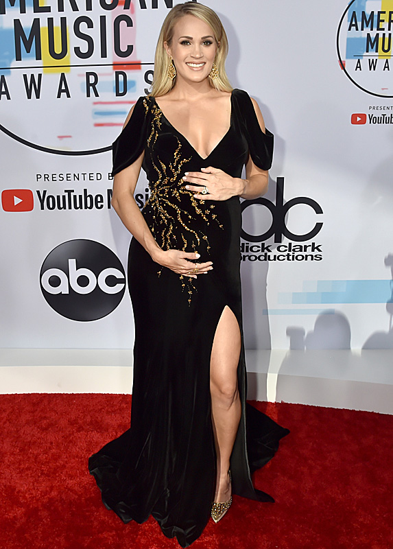 Carrie Underwood at the American Music Awards