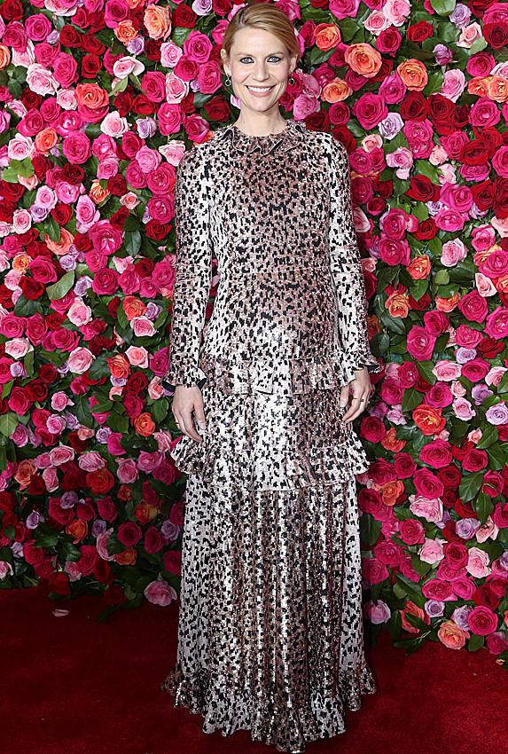 Claire Danes at the Tony Awards